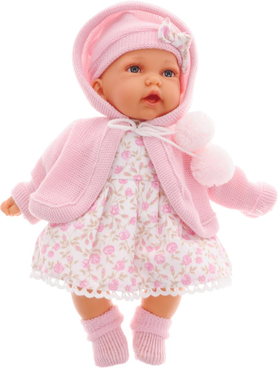 Juan Antonio Кукла озвученная Азалия цвет розовый 27 см