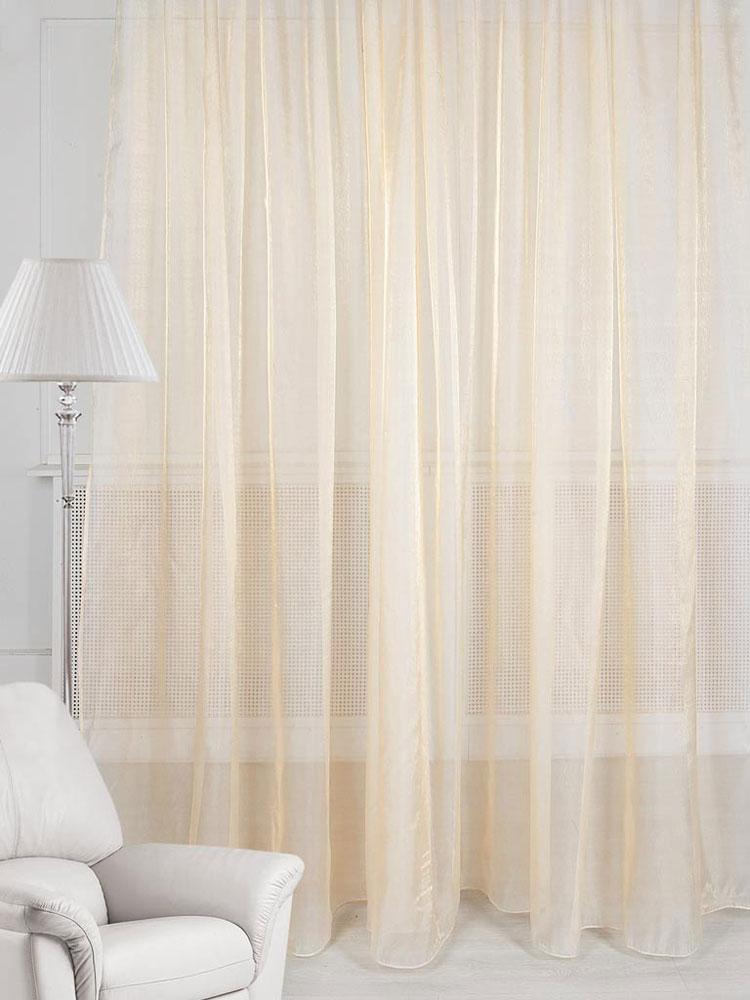 Тюль ТД Текстиль, на ленте, цвет: кремовый, высота 270 см. 84328а84328аТюль ТД Текстиль изготовлен из 100% полиэстера и великолепно украсит любое окно. Тюль из вуали органично впишется в интерьер помещения. Полиэстер - вид ткани, состоящий из полиэфирных волокон. Ткани из полиэстера - легкие, прочные и износостойкие. Такие изделия не требуют специального ухода, не пылятся и почти не мнутся.Крепление к карнизу осуществляется с использованием ленты-тесьмы. Такой тюль идеально оформит интерьер любого помещения.Рекомендации по уходу:- ручная стирка,- можно гладить,- нельзя отбеливать.