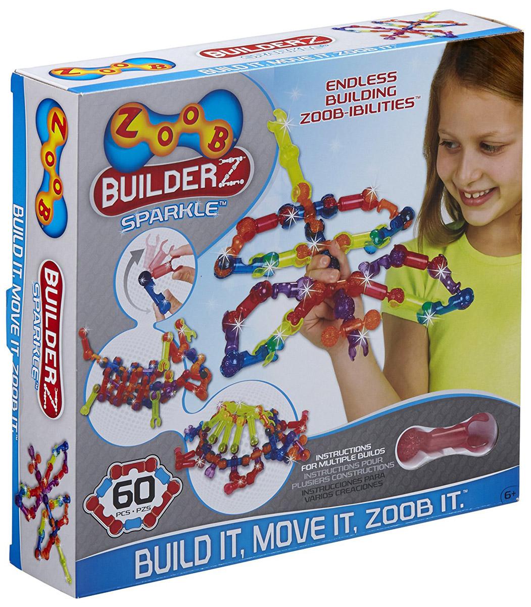 Zoob Конструктор Sparkle 60 конструкторы zoob подвижный конструктор zoob с инерционным механизмом oz12055