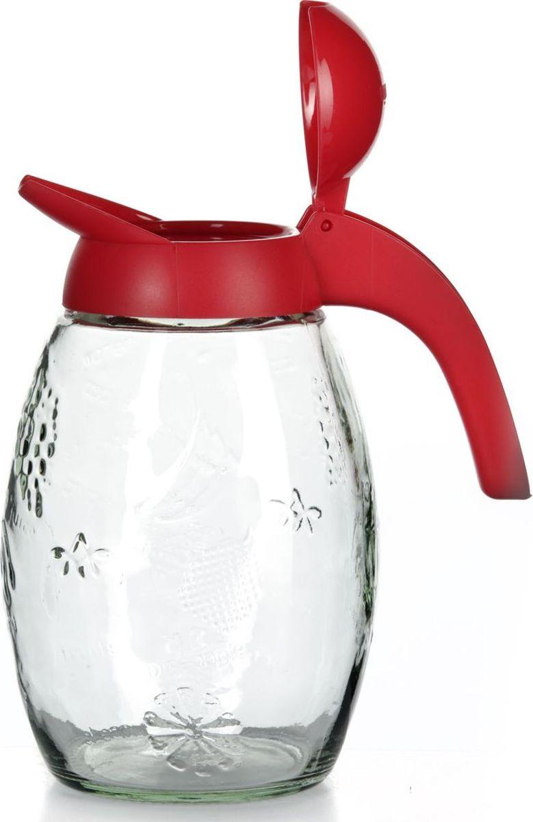 Кувшин Herevin, резной, 1,6 л. 111351-000111351-000Кувшин Herevin выполненный из высококачественного прочного стекла, элегантно украсит ваш стол. Кувшин оснащен удобной ручкой и плотно закрывающейся пластиковой крышкой. Благодаря этому внутри сохраняется герметичность, и напитки дольше остаются свежими. Кувшин прост в использовании, достаточно просто наклонить его и налить ваш любимый напиток. Форма крышки обеспечивает наливание жидкости без расплескивания. Изделие прекрасно подойдет для подачи воды, сока, компота и других напитков. Кувшин Herevin дополнит интерьер вашей кухни и станет замечательным подарком к любому празднику.