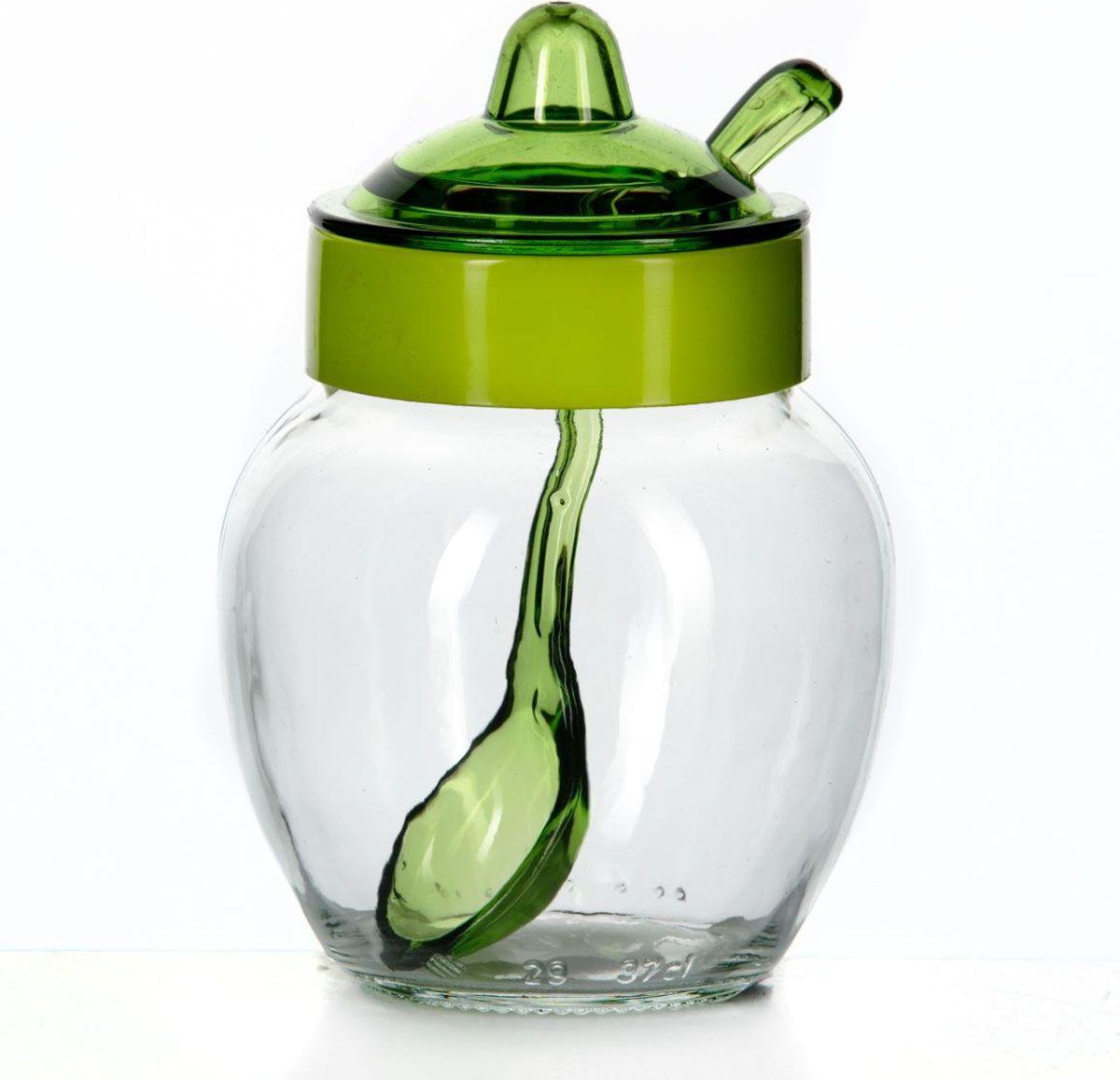 Емкость для соуса Herevin, с ложкой, 370 мл. 131506-000131506-000Емкость для соуса Herevin изготовлена из прочного стекла. Банка оснащена пластиковой крышкой и ложкой. Изделие предназначено для хранения различных соусов. Функциональная и вместительная, такая банка станет незаменимым аксессуаром на любой кухне. Можно мыть в посудомоечной машине. Пластиковые части рекомендуется мыть вручную.
