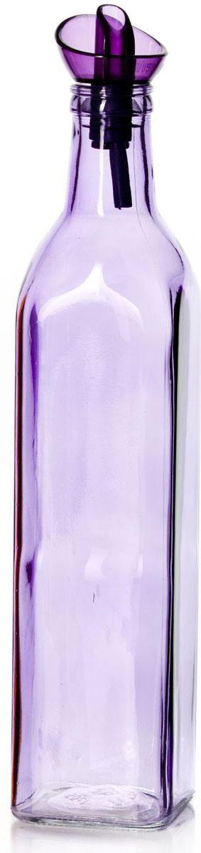 Емкость для масла Herevin, цвет: сиреневый, 500 мл151430-000Емкость Herevin, выполненная из цветного стекла, позволит украсить любую кухню, внеся разнообразие, как в строгий классический стиль, таки в современный кухонный интерьер. Она легка в использовании, стоит только перевернуть ее, и вы с легкостью сможете добавить оливковое,подсолнечное масло, уксус или соус. Емкость оснащена пластиковой пробкой с дозатором. Благодаря этому внутри сохраняется герметичность, имасло дольше остается свежим. Оригинальная, квадратная емкость для масла и уксуса будет отлично смотреться на вашей кухне.