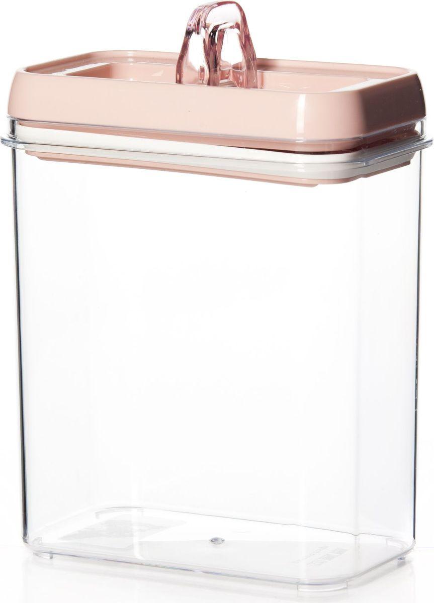 """Контейнер для продуктов """"Herevin"""" изготовлен из качественного пищевого пластика без содержания BPA. Крышка плотно и герметично закрывается, поэтому продукты дольше остаются свежими. Прозрачные стенки позволяют видеть содержимое. Такой контейнер подойдет для использования дома, его можно взять с собой на работу, учебу, в поездку."""
