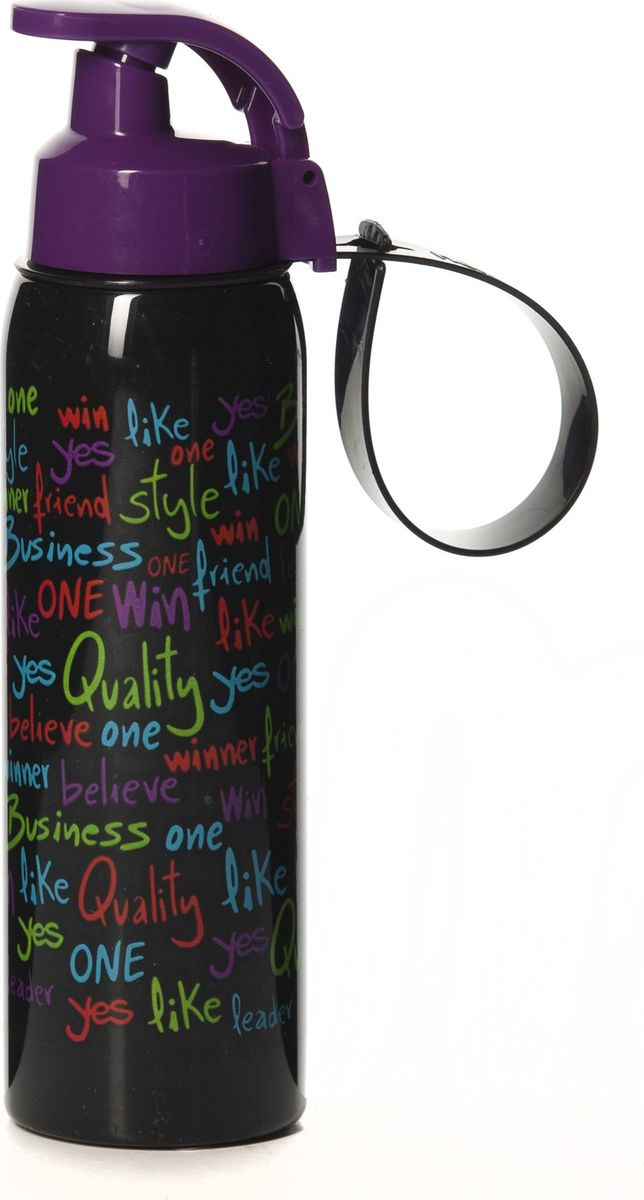 Бутылка для воды Herevin, 500 мл. 161415-030161415-030Бутылка для воды Herevin изготовлена из высококачественного твердого пластика. Бутылка снабжена закручивающейся крышкой с клапаном и регулируемой по длине петлей для удобства ношения.