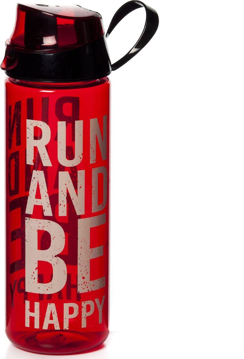 Бутылка Herevin, цвет: красный, черный, 750 мл