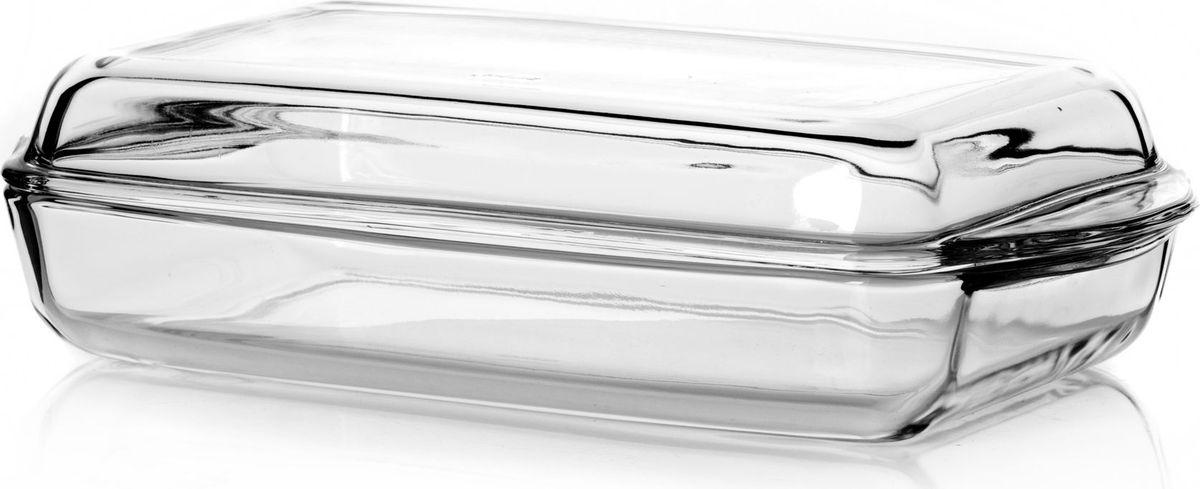 Форма для СВЧ Pasabahce, с крышкой, 2 л. 5900959009Прямоуголный лоток с крышкой Pasabahce выполнен из термостойкого стекла. Его можно использовать как для приготовления пищи, так и для изящной подачи к столу. Может быть использован в микроволновых печах, духовках и морозильных камерах (выдерживает температуру от - 30°C до 300°C).Размер: 35 см х 19 см х 8 см.