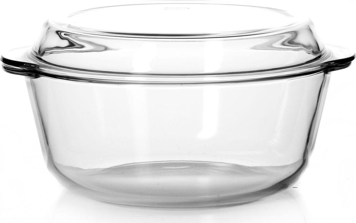 Кастрюля для СВЧ Pasabahce, с крышкой, 3 л. 5901359013Круглая кастрюля для СВЧ Pasabahce изготовлена из термостойкого стекла и оснащена крышкой, которую также можно использовать как отдельную емкость.Стекло - самый безопасный для здоровья материал. Посуда из стекла не вступает в реакцию с готовящейся пищей, а потому не выделяет никаких вредных веществ, не подвергается воздействию кислот и солей. Из-за невысокой теплопроводности пища в стеклянной посуде гораздо медленнее остывает. Стеклянная посуда очень удобна для приготовления и подачи самых разнообразных блюд: супов, вторых блюд, десертов. Благодаря прозрачности стекла, за едой можно наблюдать при ее готовке, еду можно видеть при подаче, хранении. Используя кастрюлю, вы можете как приготовить пищу, так и изящно подать ее к столу, не меняя посуды. Благодаря гладкой идеально ровной поверхности посуда легко моется.Можно использовать в духовках, микроволновых печах и морозильных камерах (выдерживает температуру от - 30°C до 300°C). Можно мыть в посудомоечной машине.