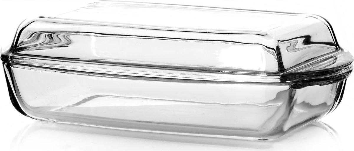 """Прямоугольный лоток для СВЧ """"Pasabahce"""" с крышкой выполнен из жаропрочного стекла. Изделие прекрасно подойдет для выпекания десертов - кексов, пирогов, тортов. Стекло - самый безопасный для здоровья материал. Посуда из стекла не вступает в реакцию с готовящейся пищей, а потому не выделяет никаких вредных веществ, не подвергается воздействию кислот и солей. Из-за невысокой теплопроводности пища в ней гораздо медленнее остывает.  Стеклянная посуда очень удобна для приготовления и подачи самых разнообразных блюд: супов, вторых блюд, десертов. Благодаря прозрачности стекла, за едой можно наблюдать при ее готовке, еду можно видеть при подаче, хранении. Используя такую посуду, вы можете как приготовить пищу, так и изящно подать ее к столу, не меняя посуды. Благодаря гладкой идеально ровной поверхности посуда легко моется.   Можно использовать в духовках, микроволновых печах и морозильных камерах (выдерживает температуру от - 30° C до 300°C). Можно мыть в посудомоечной машине.  Размер лотка: 29 х 16 х 10 см."""