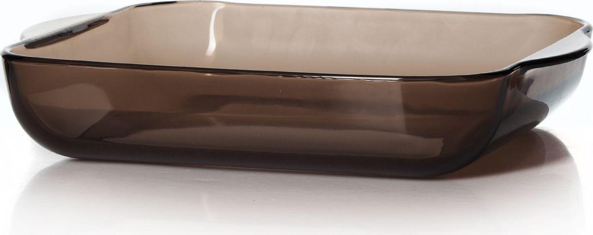 Форма для СВЧ Pasabahce, 28 х 28 см. 59024BR59024BRКвадратная форма для СВЧ Pasabahce выполнена из жаропрочного цветного стекла. Изделие прекрасно подойдет для выпекания десертов - кексов, пирогов, тортов. Стекло - самый безопасный для здоровья материал. Посуда из стекла не вступает в реакцию с готовящейся пищей, а потому не выделяет никаких вредных веществ, не подвергается воздействию кислот и солей. Из-за невысокой теплопроводности пища в ней гораздо медленнее остывает.Стеклянная посуда очень удобна для приготовления и подачи самых разнообразных блюд: супов, вторых блюд, десертов. Благодаря прозрачности стекла, за едой можно наблюдать при ее готовке, еду можно видеть при подаче, хранении. Используя такую посуду, вы можете как приготовить пищу, так и изящно подать ее к столу, не меняя посуды. Благодаря гладкой идеально ровной поверхности посуда легко моется. Можно использовать в духовках, микроволновых печах и морозильных камерах (выдерживает температуру от - 30°C до 300°C). Можно мыть в посудомоечной машине.