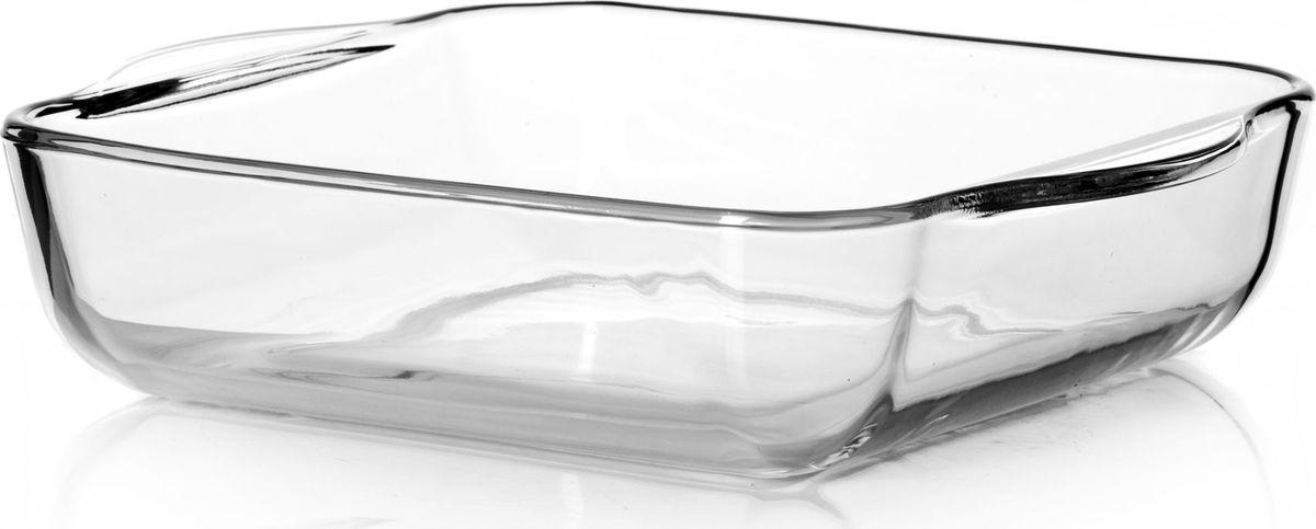 Лоток для СВЧ Pasabahce, 2 л. 5903459034Прямоугольный лоток для СВЧ Pasabahce выполнен из жаропрочного стекла. Изделие прекрасно подойдет для выпекания десертов - кексов, пирогов, тортов. Стекло - самый безопасный для здоровья материал. Посуда из стекла не вступает в реакцию с готовящейся пищей, а потому не выделяет никаких вредных веществ, не подвергается воздействию кислот и солей. Из-за невысокой теплопроводности пища в ней гораздо медленнее остывает.Стеклянная посуда очень удобна для приготовления и подачи самых разнообразных блюд: супов, вторых блюд, десертов. Благодаря прозрачности стекла, за едой можно наблюдать при ее готовке, еду можно видеть при подаче, хранении. Используя такую посуду, вы можете как приготовить пищу, так и изящно подать ее к столу, не меняя посуды. Благодаря гладкой идеально ровной поверхности посуда легко моется. Можно использовать в духовках, микроволновых печах и морозильных камерах (выдерживает температуру от - 30°C до 300°C). Можно мыть в посудомоечной машине.