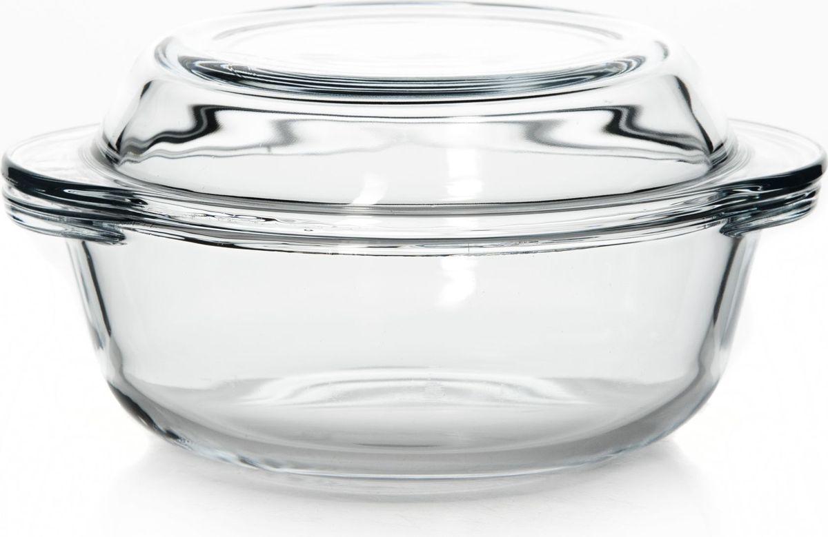 Кастрюля для СВЧ Pasabahce, с крышкой,  мл. 5906359063Круглая кастрюля с крышкой Pasabahce выполнена из термостойкого стекла. Ее можно использовать как для приготовления пищи, так и для изящной подачи ее к столу. Может быть использована в микроволновых печах, духовках и морозильных камерах (выдерживает температуру от - 30°C до 300°C).