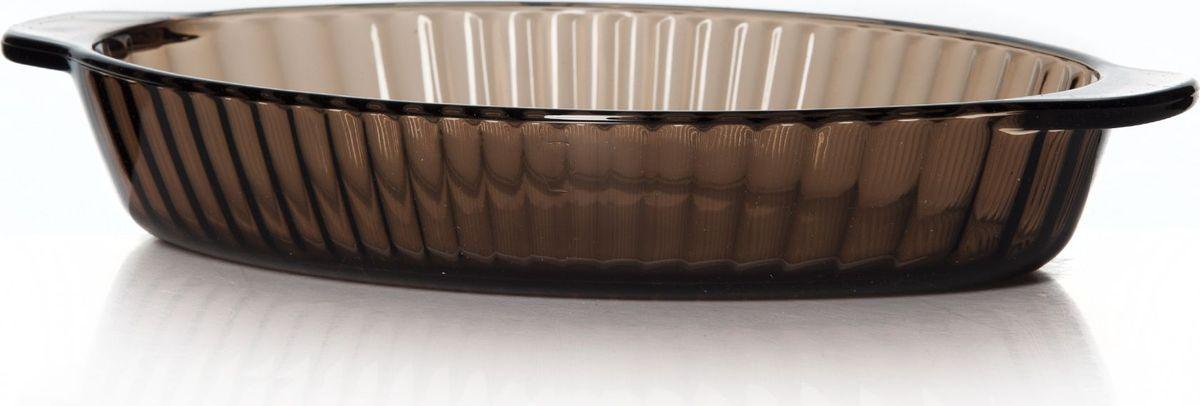 Форма для СВЧ Pasabahce, цвет: коричневый. 59724BR59724BRОвальная форма Pasabahce выполнена из термостойкого цветного стекла. Ее можно использовать как для приготовления пищи, так идля изящной подачи к столу. Может быть использована в микроволновых печах, духовках и морозильных камерах (выдерживает температуру от - 30°C до 300°C).Размеры: 15,5 см х 26,5 см. Высота стенок: 4,5 см.