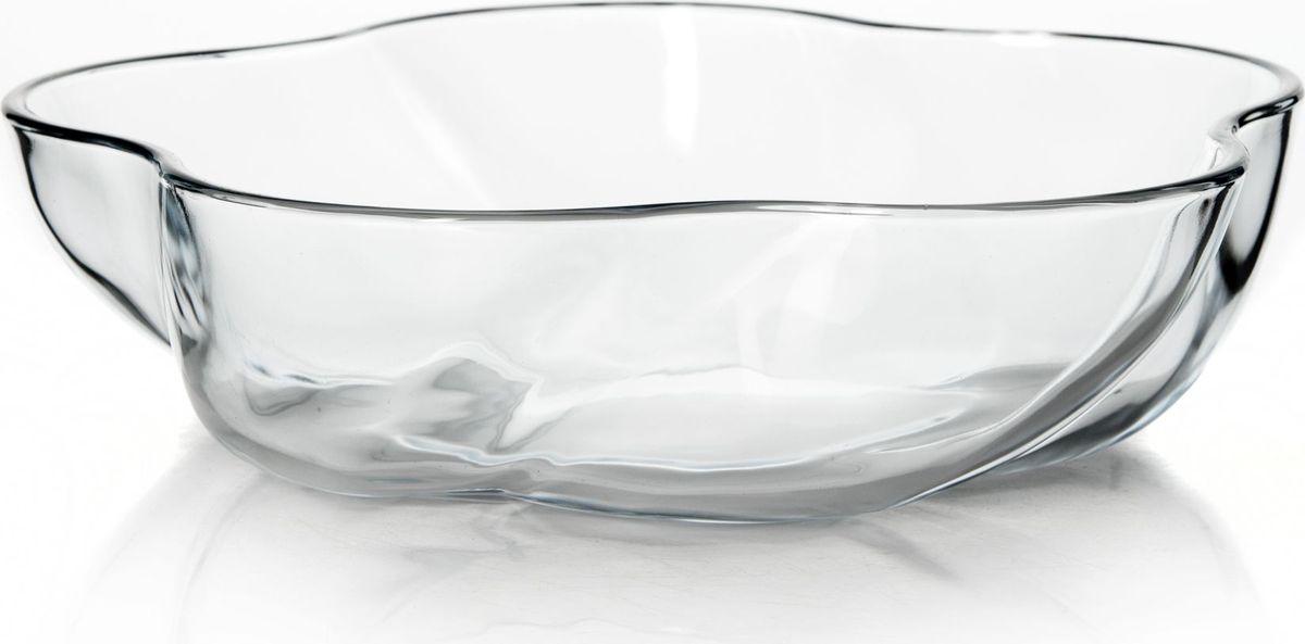 """Оригинальная форма """"Pasabahce"""" выполнена из термостойкого стекла. Ее можно использовать как для приготовления пищи, так и для изящной подачи к столу.  Может быть использована в микроволновых печах, духовках и морозильных камерах (выдерживает температуру от - 30°C до 300°C). Диаметр: 26 см."""
