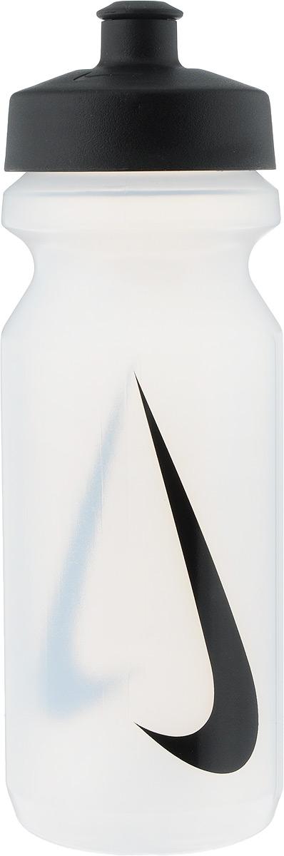 Бутылка для воды Nike Big Mouth Water Bottle, цвет: прозрачный, черный, 650 млN.OB.17.968.22Широкое отверстие позволяет удобно наливать коктейли и добавлять лед в бутылку. Просто открывающийся защитный колпачок. Широкая рельефная поверхность позволяет с лёгкостью потянуть за него и открыть бутылку. Нижняя часть конической формы позволяет легко помещать и вытаскивать бутылку из велосипедной сетки. Объём: 650мл. Высота: 21 см. Диаметр ( по верхнему краю): 6,5 см.Как повысить эффективность тренировок с помощью спортивного питания? Статья OZON Гид