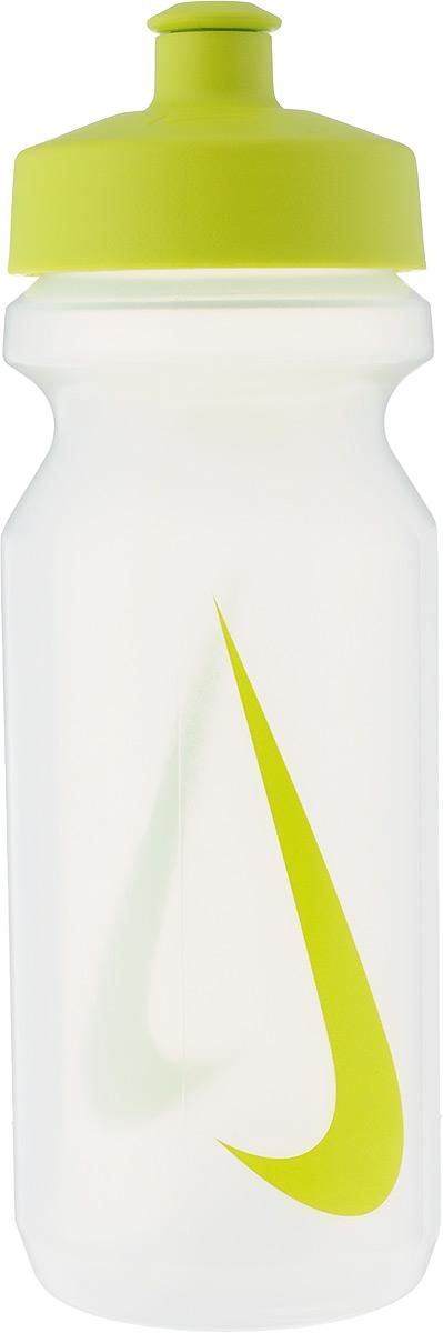 Бутылка для воды Nike Big Mouth Water Bottle, цвет: прозрачный, зеленый, 650 млN.OB.17.964.22Стильная бутылка для воды Nike Big Mouth Water Bottle, изготовленная из высококачественных материалов, оснащена крышкой, которая плотно и герметично закрывается. Бутылка имеет герметичный клапан для питья, который не позволяет воде расплескиваться. Широкое отверстие позволяет удобно наливать коктейли и добавлять лед. Подходит для велосипедных держателей. Высота: 21 см.Диаметр основания: 6,5 см.