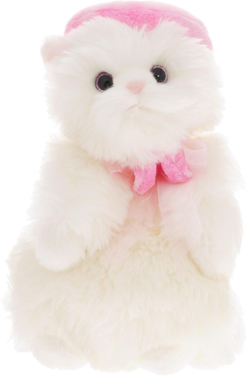 Gulliver Мягкая игрушка Кошечка Мими в беретике, 24 см игрушка мягкая gulliver кукла хозяюшка 30см