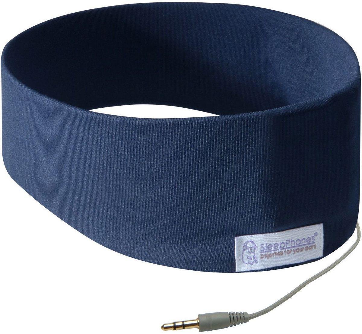 SleepPhone SC5 наушники, BlueSC5UMЗапатентованный, уникальный дизайн наушники в головной повязке - для вашего максимального комфорта и удобства. Мягкие ультратонкие наушники обеспечивают максимальный комфорт при эксплуатации. Внутри мягкой головной повязки находятся беспроводные динамики. Плоские квадратные динамики заключены в текстильные чехлы. Материал динамиков гибкий, не имеющий никаких острых, громоздких краев и деталей. Динамики могут изменять положения для достижения максимального качества звучания, либо выниматься, если головную повязку необходимо постирать.Наушники SleepPhones обеспечивают надежную фиксацию, они остаются на месте во время активных движений при тренировке или во время сна.Мягкая, комфортная повязка-наушники SleepPhones помогает заснуть быстрее и спать крепче, снижая влияние окружающего шума, разговоров, звуков движения, храпа.Головная повязка изготовлена из гипоаллергенной ткани, которую можно стирать в стиральной машине.Усовершенствованное качество звука, экологически чистая электроника, без присутствия свинца.Сверхтонкая, мягкая, съемная внутренняя система стереонаушников.Шнур: 120 см.Стерео-разъем: 3.5 мм, 32 Ом, 20-20 кГц, 300/500 мВт.Соответствие Директивам ЕС по ограничению вредных веществ.Размеры: 55-59см.Цвета: черный, бледно-лиловый, светло-серый, модель Breeze - розовый, синий.Материал: классическая версия: 88% переработанный пластик-полиэстер Polartec, 12% спандекс;версия Breeze: 95% переработанный пластик-полиэстер Polartec, 5% спандекс.
