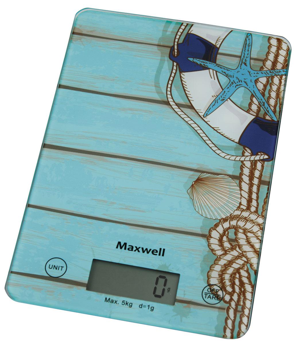 Maxwell MW-1473(B) весы кухонные весы кухонные maxwell mw 1473 b голубой рисунок