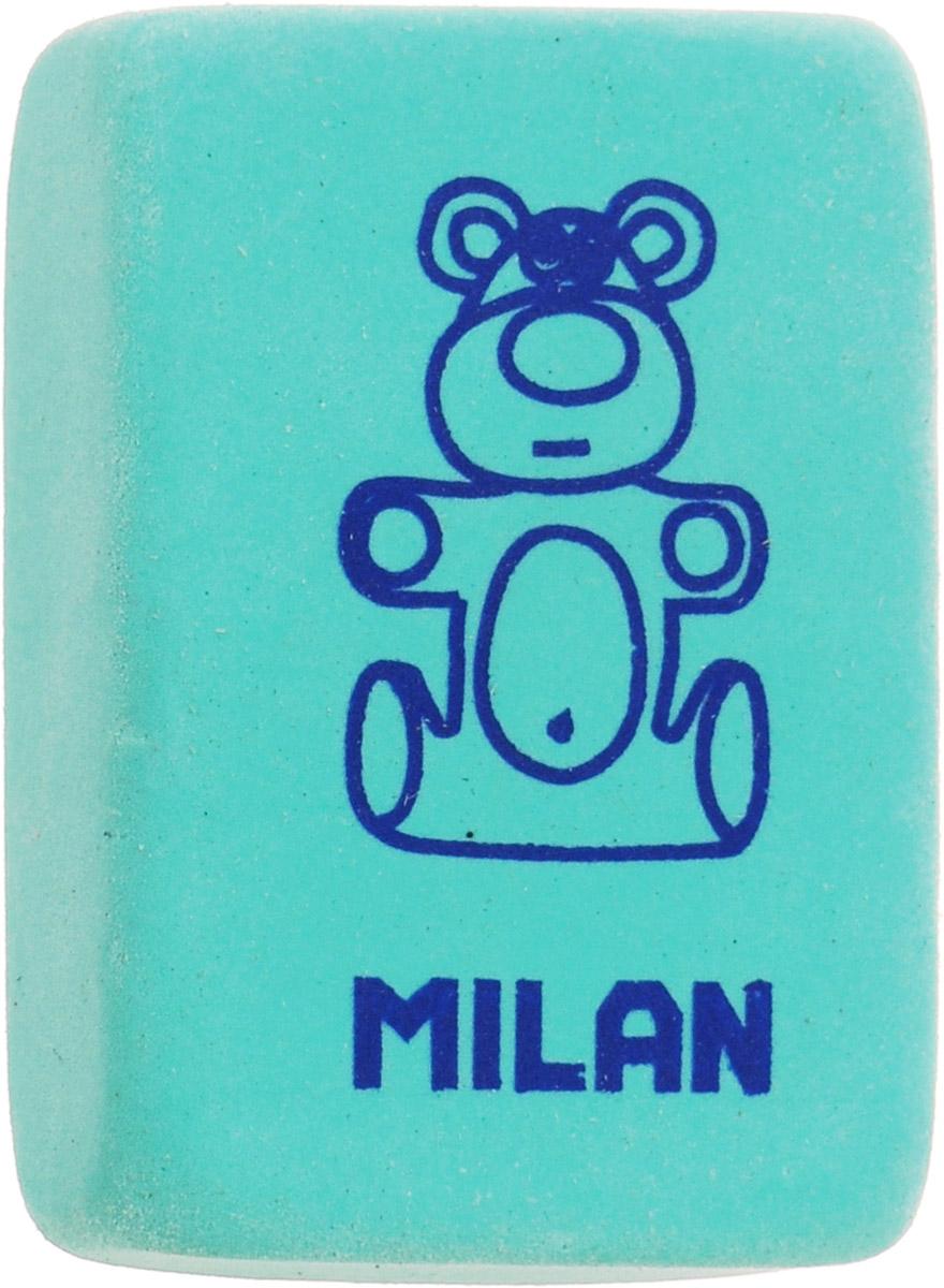 Milan Ластик 4060 цвет бирюзовыйCNM4060_бирюзовыйЛастик Milan изготовлен из натурального каучука с добавлением абразивных веществ. Подходит для работы с твердыми грифелями.Имеет мягкую форму, спокойный пастельный цвет.Ластик обеспечивает высокое качество коррекции и не повреждает поверхность бумаги.