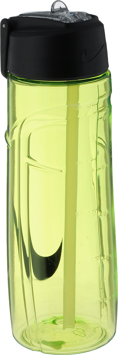 Бутылка для воды Nike T1 Flow Swoosh Water Bottle 24oz, цвет: желтый, черный, 709 млN.OB.92.713.24Бутылка для воды Nike T1 Flow Swoosh Water Bottle 24oz с горлышком, которое поднимается на 90 градусов, что обеспечивает простоту в использовании.Модель дополнена измерительной шкалой и петелькой для подвешивания. Технология материала Tritan обеспечивает долговечность и ударопрочность. Не содержит BPA.Объем: 709 мл.Высота: 22 см.Диаметр основания: 7 см.