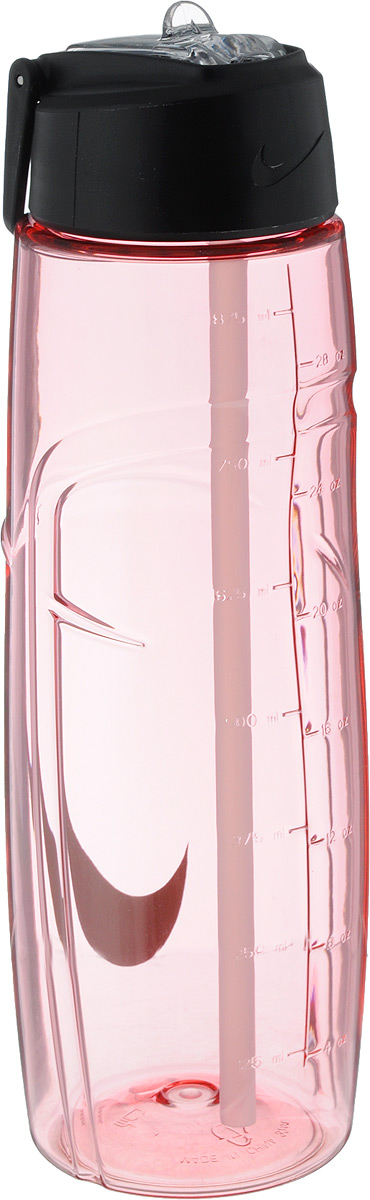 Бутылка для воды Nike T1 Flow Swoosh Water Bottle 32oz, цвет: розовый, серый, 946 млN.OB.91.606.32Бутылка для воды Nike T1 Flow Swoosh Water Bottle 32oz с горлышком, котороеподнимается на 90 градусов, что обеспечивает простоту в использовании. Модель дополнена измерительной шкалой и петелькой для подвешивания. Технологияматериала Tritan обеспечиваетдолговечность и ударопрочность. Не содержит BPA. Объем: 946 мл. Высота: 25 см. Диаметр основания: 7,5 см.