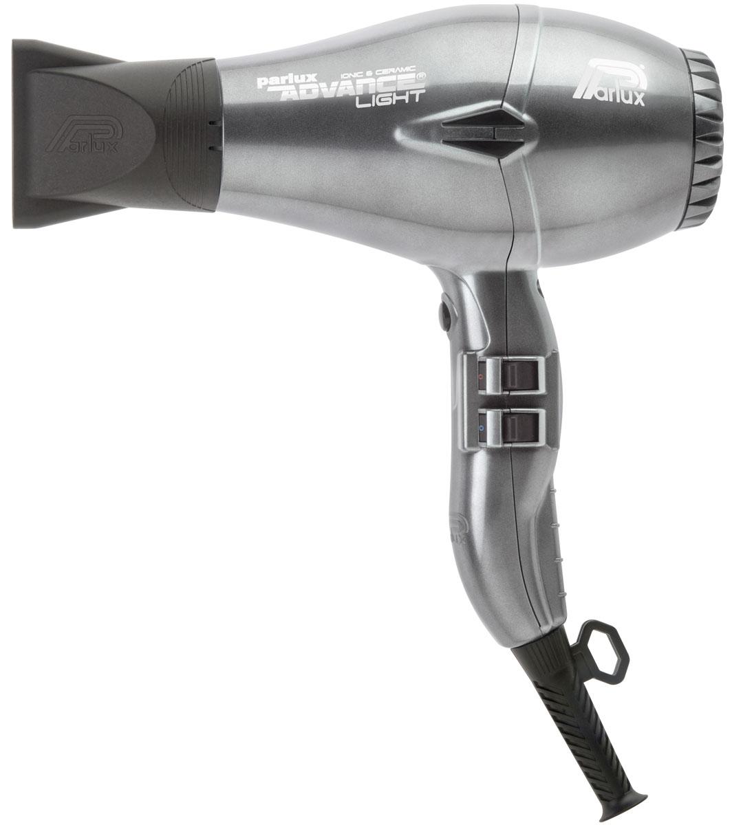 Parlux Advance Light фен0901-Adv graphiteМиссия бренда Parlux заключается в том, чтобы создавать самые лучшие фены для тех, кто дарит нам красоту - для профессиональных парикмахеров. 2 самых важных характеристики фена это высокая мощность и легкий вес. В течении 3 лет разработчики компании Parlux искали способ создать более совершенный фен, чем Parlux 385. Сегодня мы рады представить вам Parlux Advance light - очень мощный и невероятно удобный профессиональный фен. Просто легкий фен или легкий фен с идеальным балансом? Как только вы возьмете в руки новую разработку от Parlux вы почувствуете разницу! Вес фена концентрируется точно в центре, даря необыкновенное ощущение легкости. Такой баланс безусловно важен для мастеров, которые целый день работают в салоне. Визитная карточка бренда Parlux это яркие и необычные цвета. Не откажите себе в удовольствии приобрести фен, который создавали с любовью к парикмахерам!