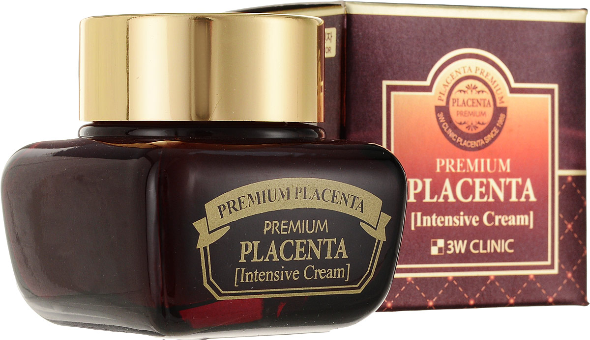 3W Clinic Крем для лица антивозрастной Premium Placenta Age Repair Cream, 50 мл83372Крем премиум-класса для ухода за зрелой кожей. Оптимальный возраст для применения плацентарной косметики – после 40 лет, когда в коже сокращается выработка коллагена и эластина. Именно для этой возрастной группы разработан крем с экстрактом плаценты, который позволяет значительно улучшить состояние кожи. Крем запускает процессы восстановления кожи на клеточном уровне, активизируя жизненно важные функции: улучшает клеточное дыхание и метаболизм, микроциркуляцию крови и обмен веществ в клетках кожи, защищает от воздействия вредных факторов окружающей среды. Гидролизованный экстракт плаценты в составе крема – источник белков, жиров, нуклеиновых кислот, витаминов и других питательных, биологически активных веществ. Уникальный химический состав экстракта плаценты насыщает кожу недостающими компонентами и эффективно восстанавливает ее жизненную энергию, активизирует клеточное дыхание и улучшает метаболизм. Экстракт плаценты способствует сохранению влаги в клетках, оберегая кожу от уменьшения в объеме, удерживая в ней воду. Оказывает противовоспалительное действие, снимает напряжение и усталость кожи. Способствует перемещению пигмента меланина из глубоких слоев кожи к ее поверхности и удалению его с отшелушивающимся эпидермисом, благодаря чему кожа становится не только ровнее, но и светлее. Помимо плаценты в составе крема высокое содержание натуральных экстрактов и масел, которые усиливают омолаживающее действие. При регулярном применении крема кожа не только осветляется, но и разглаживается, морщины становятся менее выраженными, улучшается тургор кожи, она вновь обретает упругость и эластичность.