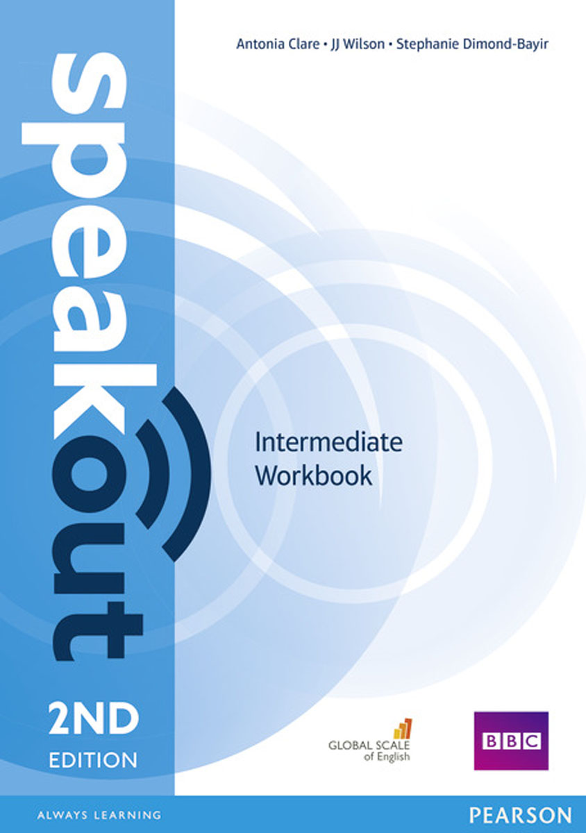 Speakout Intermediate Workbook without Key language practice intermediate сd