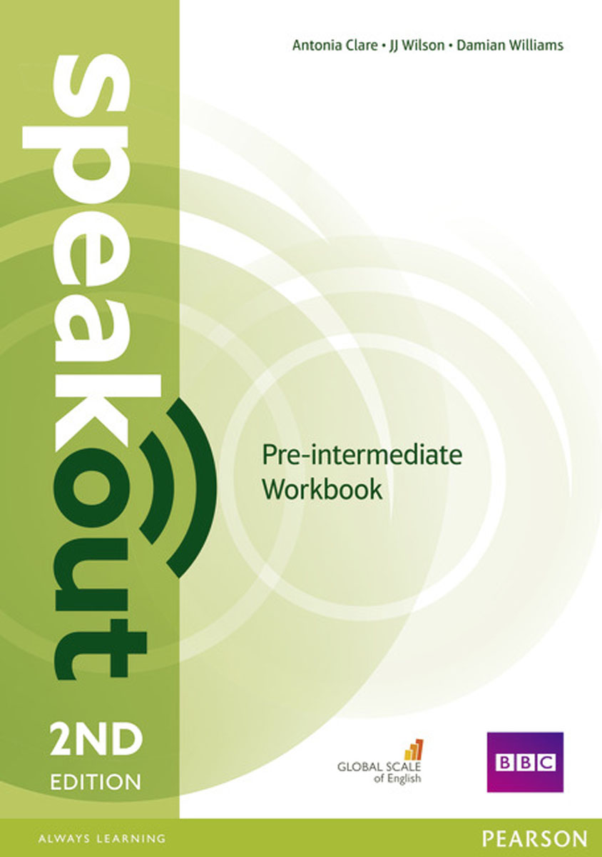 Speakout Pre-Intermediate Workbook without Key (2Ed) roberts rachael sayer mike insight pre intermediate workbook