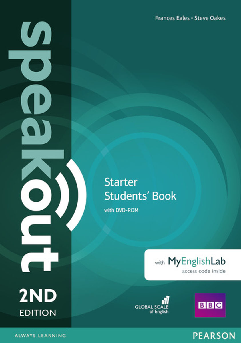 Фото - Speakout Starter Student's Book with DVD + MyEnglishLab (2Ed) speakout starter student s book with dvd myenglishlab 2ed