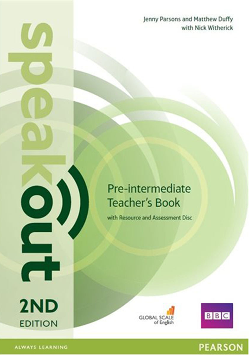 Speakout Pre-Intermediate Teacher's Book with Resource & Assessment Disc (2Ed) evans v dooley j enterprise plus grammar pre intermediate