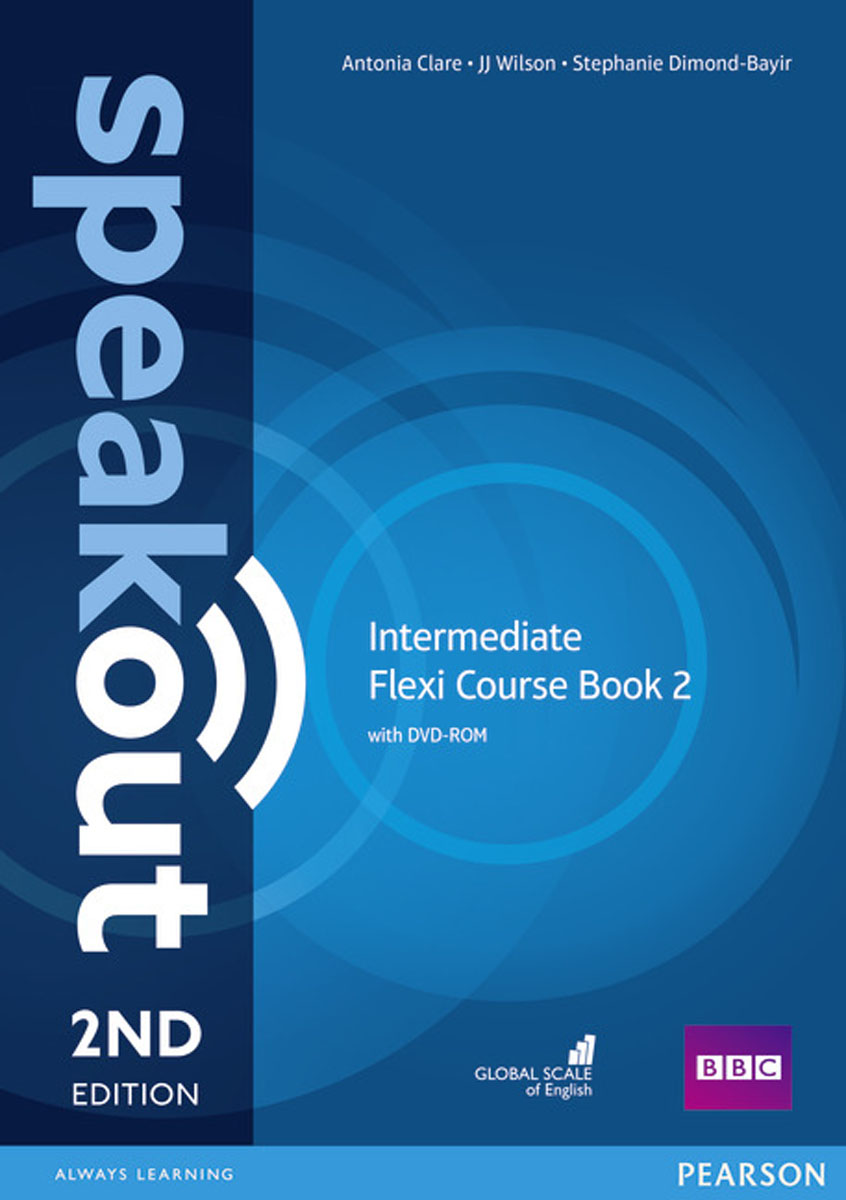 Speakout Intermediate Flexi Course: Book 2 (+ DVD-ROM) antonia clare jj wilson speakout intermediate student s book with dvd 2ed