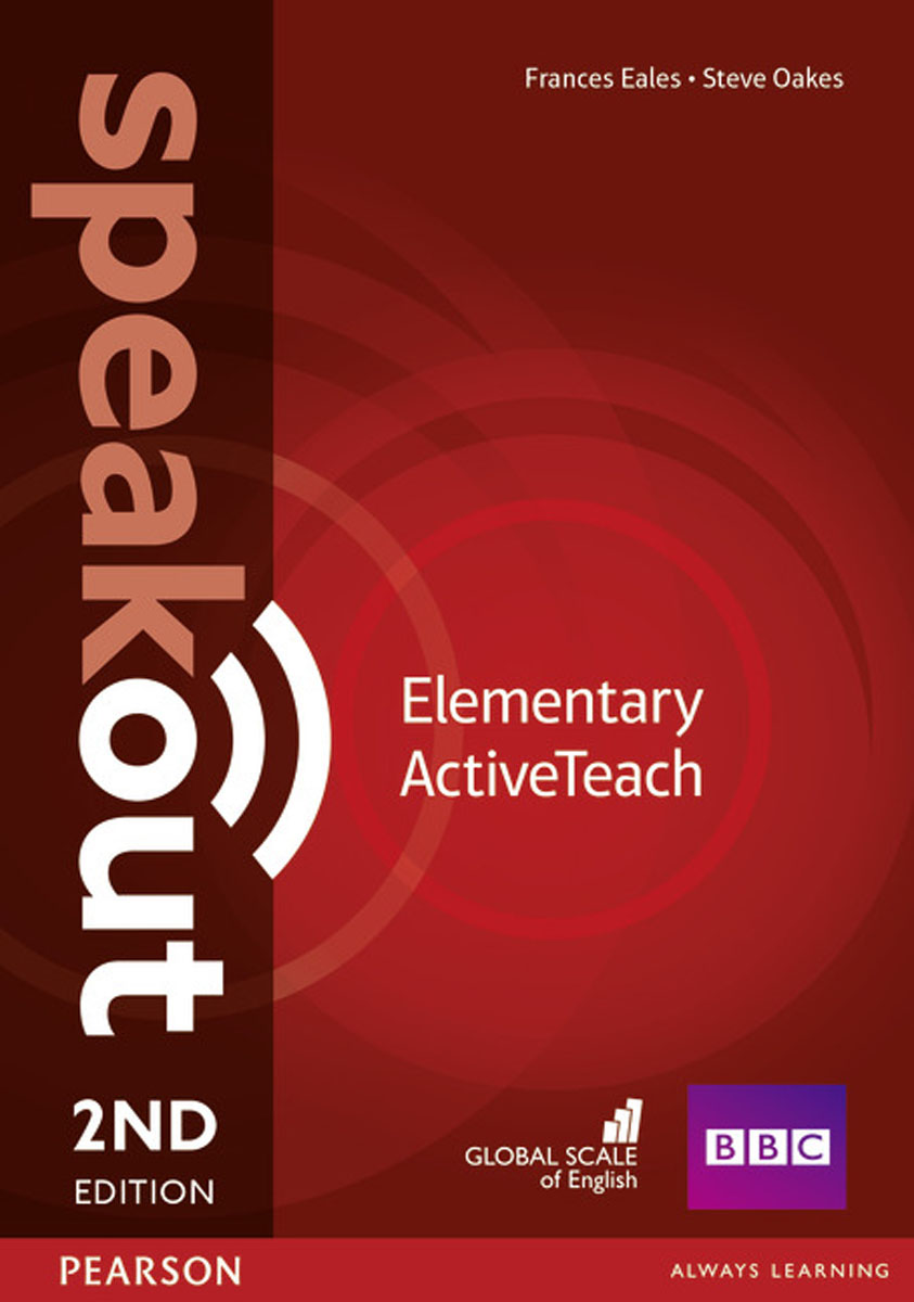 Speakout Elementary ActiveTeach CD (2Ed) global elementary coursebook with eworkbook pack