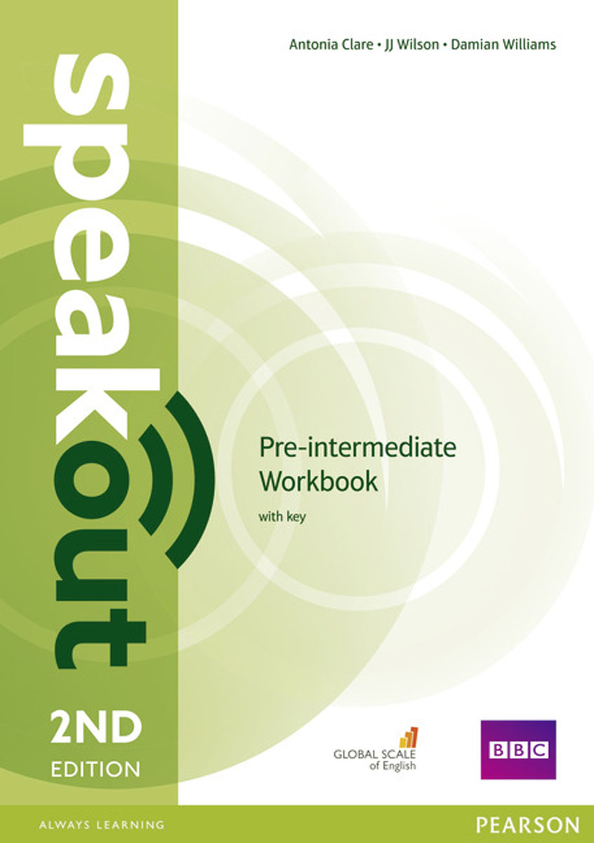 Speakout Pre-Intermediate Workbook with Key (2Ed) roberts rachael sayer mike insight pre intermediate workbook