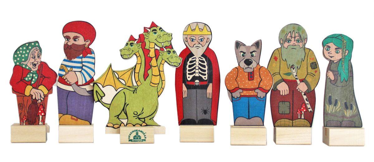 Краснокамская игрушка Набор фигурок Сказочные вредины 1toy набор фигурок bbuddieez 10 персонажей и 2 браслета