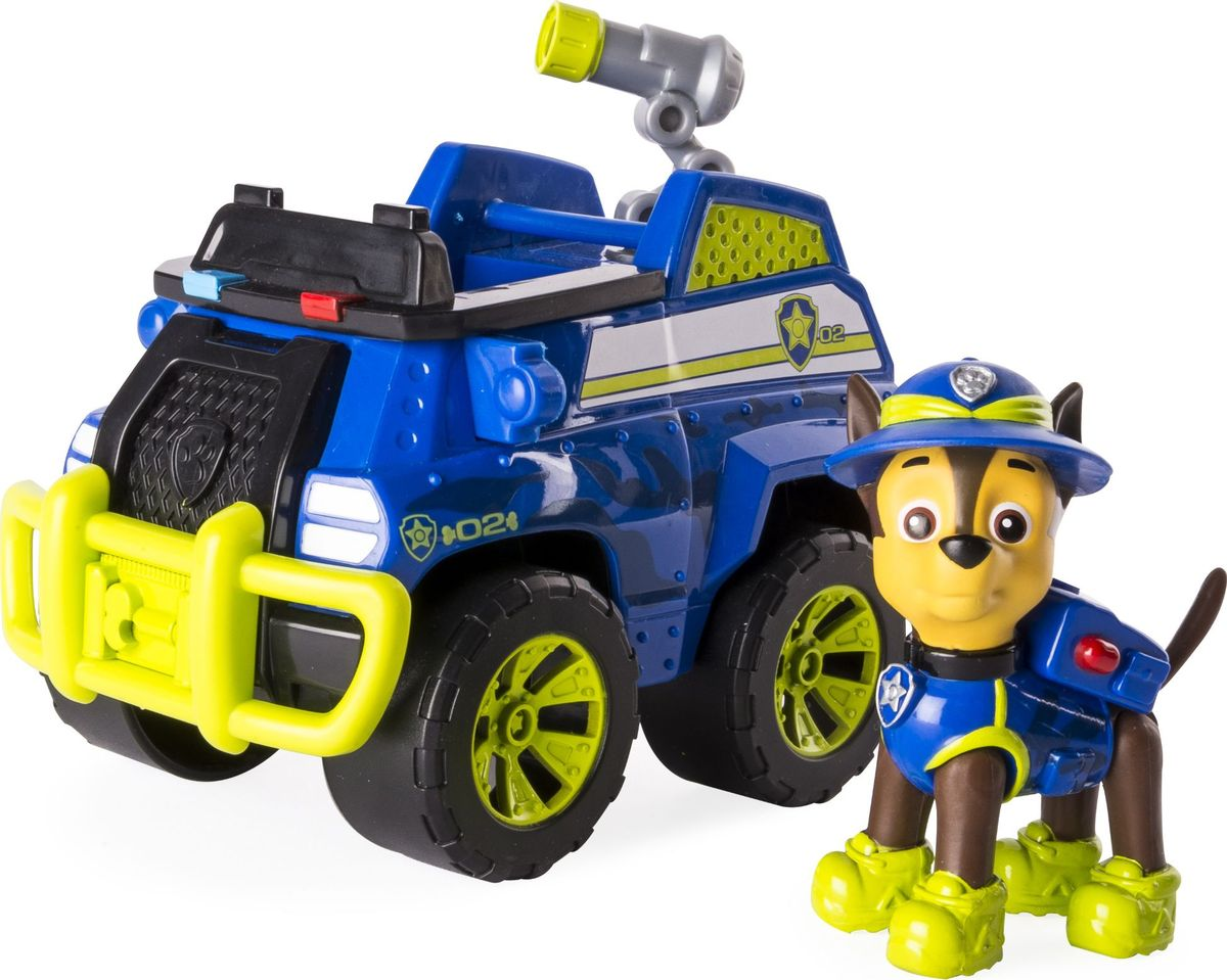 Paw Patrol Игровой набор Машина спасателя со щенком - Игровые наборы