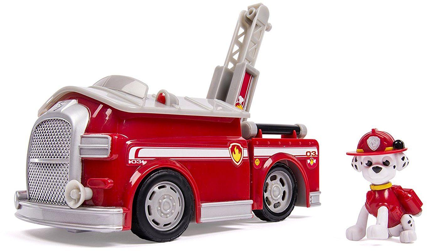Paw Patrol Игровой набор Машина-трансформер со звуком и светом игровой набор paw patrol машина спасателей со звуком со светом