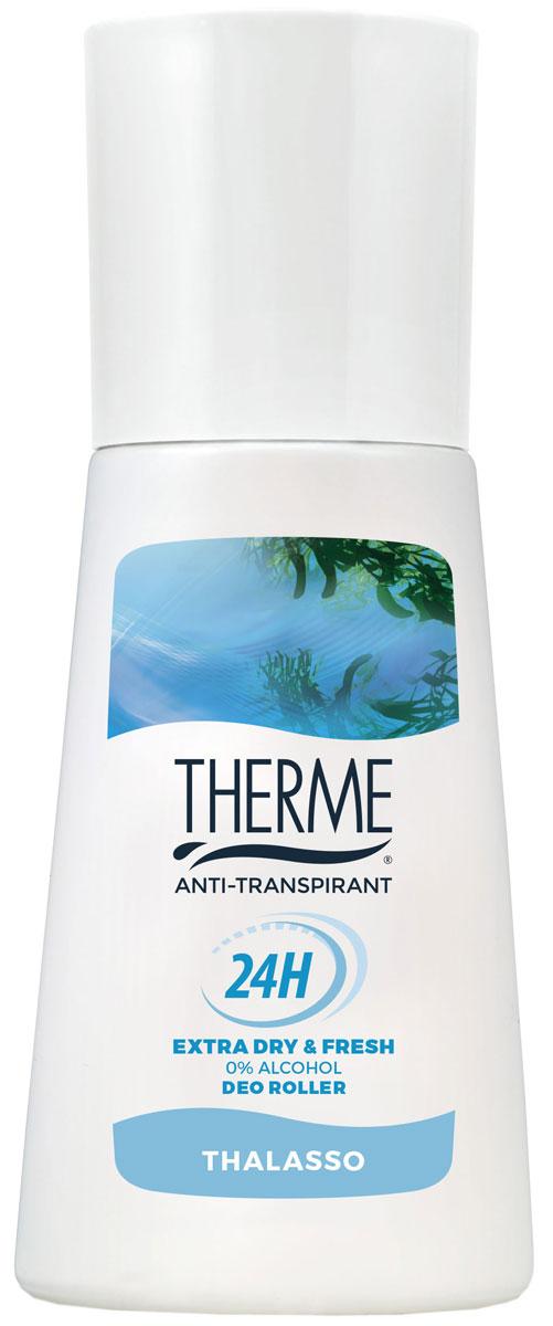 Therme Роликовый антиперспирант Талассо, 60 мл61616Устраняет бактерии, поддерживает натуральный PH баланс. Содержит морские минералы и соли. Подходит для чувствительной кожи. Не содержит спирта, красителей, консервантов, фталатов.