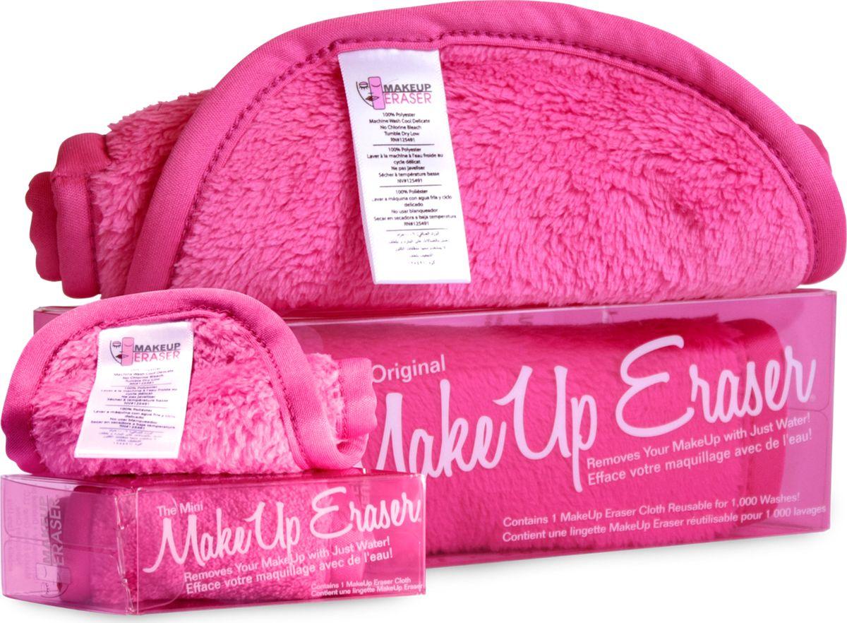 MakeUp Eraser мини-салфетка для снятия макияжа розовая000297Makeup Eraser MINI (розовая) уникальная салфетка, которая с невероятной легкостью снимает макияж, аккуратно очищая кожу лица абсолютно естественным образом. Салфетка воздействует без применения привычных средств для удаления декоративной косметики или умывания, значительно упрощает повседневный ритуал ухода и очищения, делает его приятным и легким.Секрет магических свойств салфетки Makeup Eraser заключается в особом переплетении полиэстеровых нитей. При производстве изделия поверхность ткани не подвергается никакой химической обработке, что гарантирует ее гипоаллергенность и безопасность применения, а для того, чтобы начать процедуру использования салфетки, достаточно просто хорошо смочить ее в чистой теплой воде. Салфетку Makeup Eraser можно с успехом применять для любого типа кожи, в том числе очень чувствительной, ее мягкое воздействие не вызывает раздражений или покраснений, высокий уровень качества ткани гарантирует длительное использование салфетки, а ее великолепные очищающие и ухаживающие свойства не снижаются даже после многократных стирок изделия.