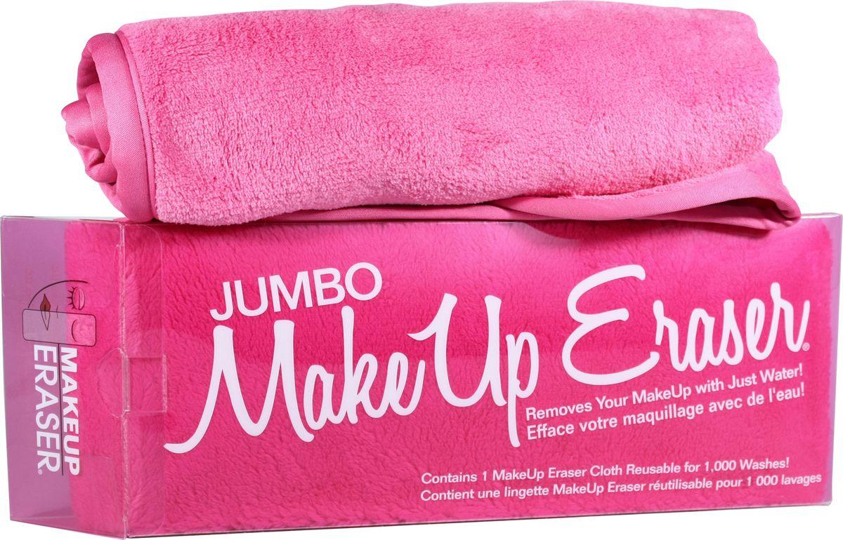 MakeUp Eraser полотенце для снятия макияжа экстрабольшое006111Makeup Eraser JUMBO (розовая) уникальная салфетка, которая с невероятной легкостью снимает макияж, аккуратно очищая кожу лица абсолютно естественным образом. Салфетка воздействует без применения привычных средств для удаления декоративной косметики или умывания, значительно упрощает повседневный ритуал ухода и очищения, делает его приятным и легким. Секрет магических свойств салфетки Makeup Eraser заключается в особом переплетении полиэстеровых нитей. При производстве изделия поверхность ткани не подвергается никакой химической обработке, что гарантирует ее гипоаллергенность и безопасность применения, а для того, чтобы начать процедуру использования салфетки, достаточно просто хорошо смочить ее в чистой теплой воде.Салфетку Makeup Eraser можно с успехом применять для любого типа кожи, в том числе очень чувствительной, ее мягкое воздействие не вызывает раздражений или покраснений, высокий уровень качества ткани гарантирует длительное использование салфетки, а ее великолепные очищающие и ухаживающие свойства не снижаются даже после многократных стирок изделия.