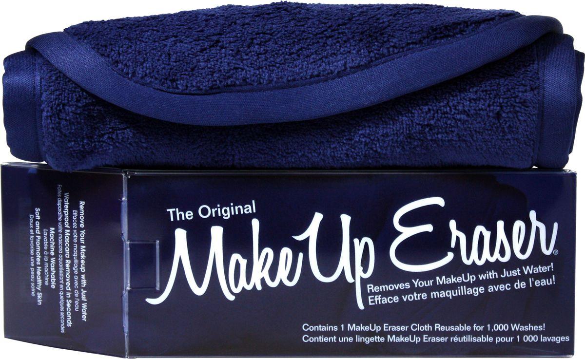 MakeUp Eraser салфетка для снятия макияжа темно-синяя006197Makeup Eraser Original (темно-синяя) уникальная салфетка, которая с невероятной легкостью снимает макияж, аккуратно очищая кожу лица абсолютно естественным образом. Салфетка воздействует без применения привычных средств для удаления декоративной косметики или умывания, значительно упрощает повседневный ритуал ухода и очищения, делает его приятным и легким. Секрет магических свойств салфетки Makeup Eraser заключается в особом переплетении полиэстеровых нитей. При производстве изделия поверхность ткани не подвергается никакой химической обработке, что гарантирует ее гипоаллергенность и безопасность применения, а для того, чтобы начать процедуру использования салфетки, достаточно просто хорошо смочить ее в чистой теплой воде.Салфетку Makeup Eraser можно с успехом применять для любого типа кожи, в том числе очень чувствительной, ее мягкое воздействие не вызывает раздражений или покраснений, высокий уровень качества ткани гарантирует длительное использование салфетки, а ее великолепные очищающие и ухаживающие свойства не снижаются даже после многократных стирок изделия.