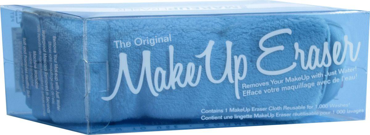 MakeUp Eraser салфетка для снятия макияжа голубая000259Makeup Eraser Original (голубая) уникальная салфетка, которая с невероятной легкостью снимает макияж, аккуратно очищая кожу лица абсолютно естественным образом. Салфетка воздействует без применения привычных средств для удаления декоративной косметики или умывания, значительно упрощает повседневный ритуал ухода и очищения, делает его приятным и легким.Секрет магических свойств салфетки Makeup Eraser заключается в особом переплетении полиэстеровых нитей. При производстве изделия поверхность ткани не подвергается никакой химической обработке, что гарантирует ее гипоаллергенность и безопасность применения, а для того, чтобы начать процедуру использования салфетки, достаточно просто хорошо смочить ее в чистой теплой воде. Салфетку Makeup Eraser можно с успехом применять для любого типа кожи, в том числе очень чувствительной, ее мягкое воздействие не вызывает раздражений или покраснений, высокий уровень качества ткани гарантирует длительное использование салфетки, а ее великолепные очищающие и ухаживающие свойства не снижаются даже после многократных стирок изделия.