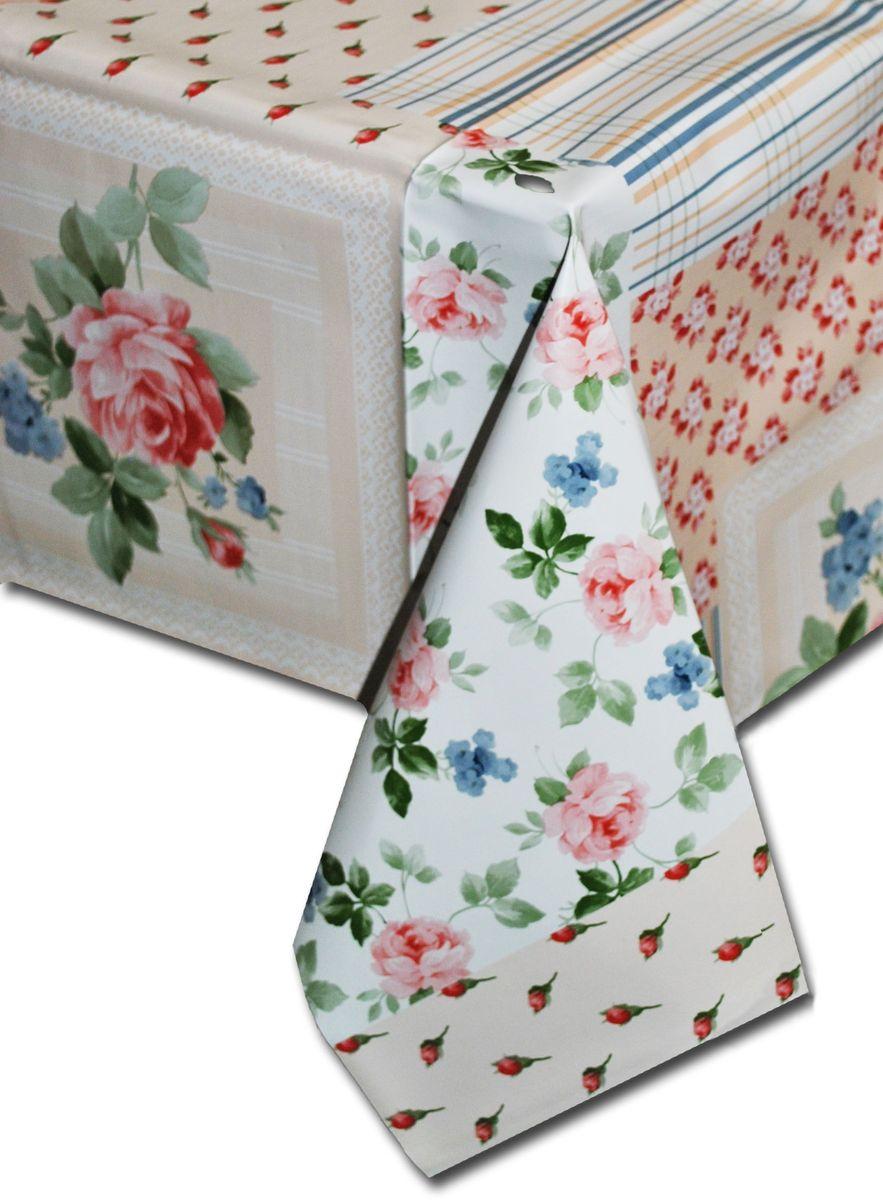 Столовая клеенка LCadesi Florista, прямоугольная, 100 х 140 см. FL100140-034-03FL100140-034-03Столовая клеенка Florista с классическим дизайном украсит ваш стол и защитит его от царапин и пятен. Благодаря основе из нетканого материала не скользит по столу. Клеенка не имеет запаха и совершенно безопасна для человека.