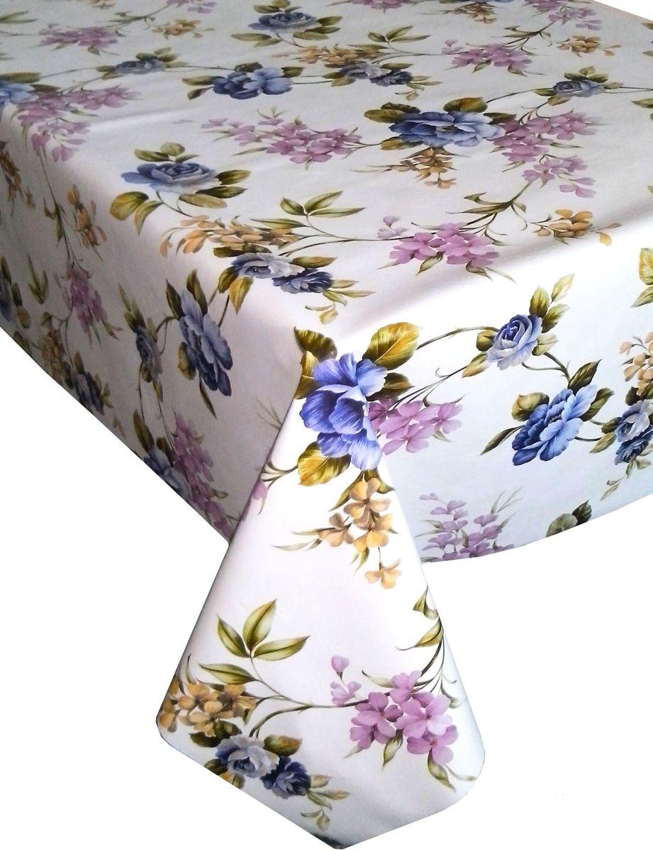 """Столовая клеенка """"Florista"""" с ярким дизайном украсит ваш стол и защитит его от царапин и пятен. Благодаря основе из нетканого материала не скользит по столу. Клеенка не имеет запаха и совершенно безопасна для человека."""