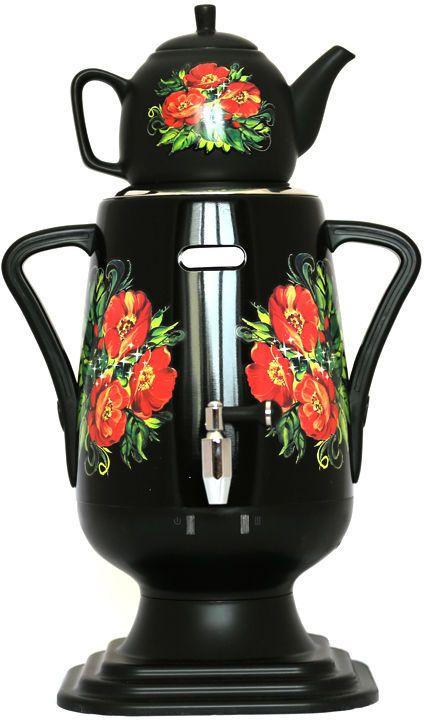 Добрыня DO-424 электрический самоварDO-424Самовар Добрыня DO-424 станет прекрасной альтернативой обычному чайнику. Украшенный росписью в исконно-русском стиле, самовар сделает ваш интерьер оригинальным и подчеркнет принадлежность к русской культуре.Кроме того, данная техника, обладает рядом технических преимуществ: двойные стенки, наличие заварочного чайника, несколько температурных режимов, встроенный термостат - все это значительно упрощает процесс использования самовара. Вода в самоваре нагревается максимально быстро, и ее температура удерживается длительно время. Самовар Добрыня станет прекрасным и оригинальным подарком к любому празднику!