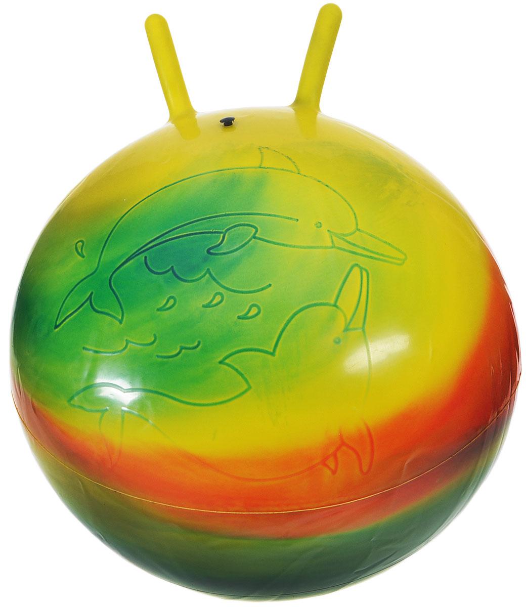 цены Stantoma Игрушка-попрыгун Мяч с рогами цвет мультиколор 55 см
