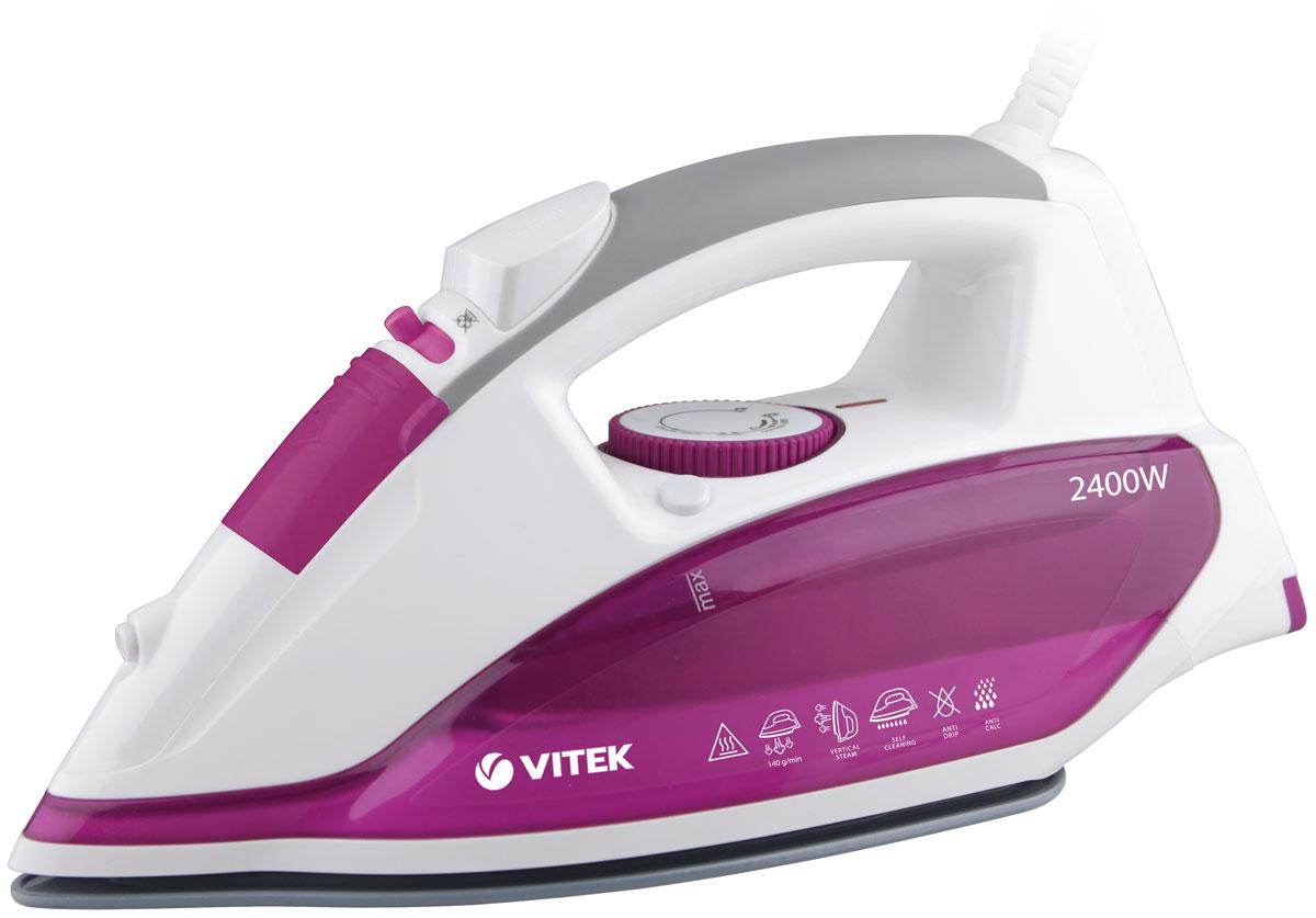 Vitek VT-1262(PK) утюг утюг vitek vt 1262 pk 2400вт розовый белый vt 1262 pk