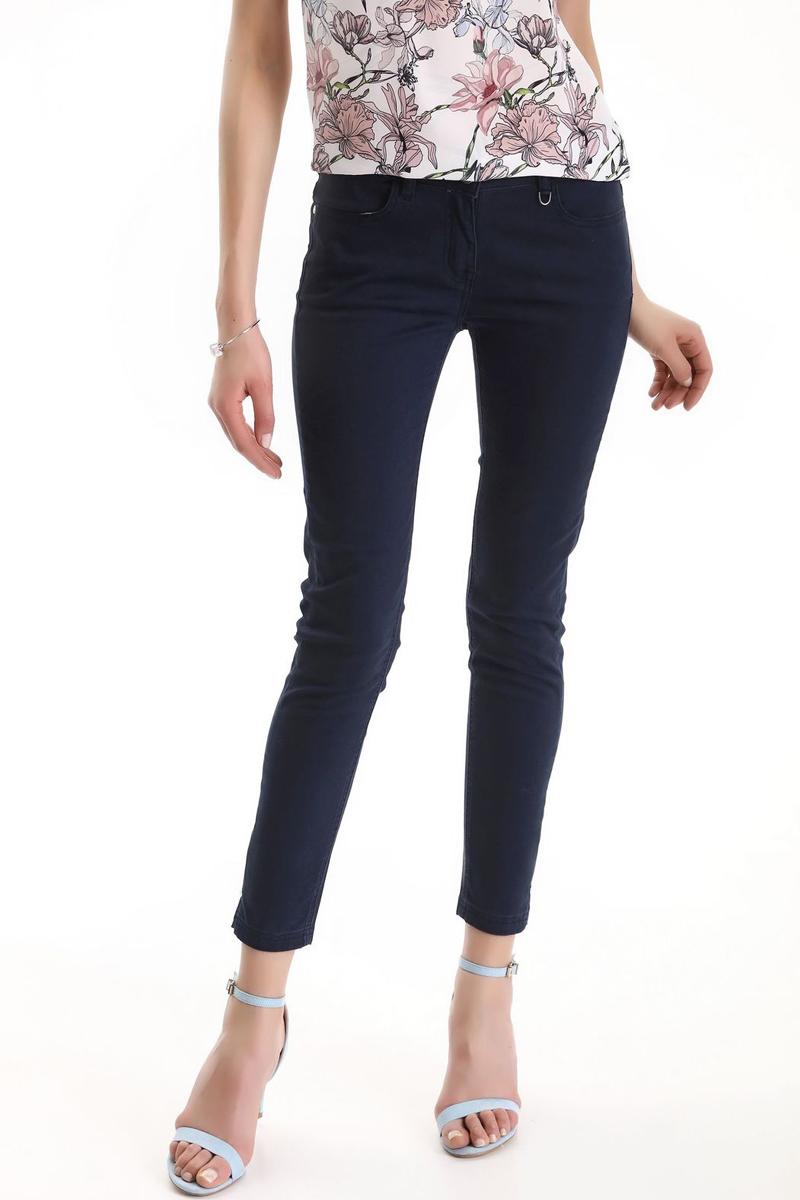 Брюки женские Top Secret, цвет: темно-синий. SSP2486GR. Размер 42 (50) шорты женские top secret цвет синий ssz0815ni размер 42 50