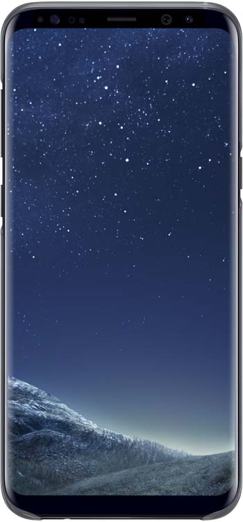 Samsung EF-QG955C Clear Cover чехол для Galaxy S8+, BlackEF-QG955CBEGRUSamsung EF-QG955C Clear Cover - прозрачная накладка на заднюю крышку смартфона Samsung Galaxy S8+. Тонкий чехол практически не увеличивает размеров смартфона, сохраняя его оригинальный внешний вид и защищая от пыли, грязи и повреждений. Оснащен необходимыми отверстиями под порты и камеру.