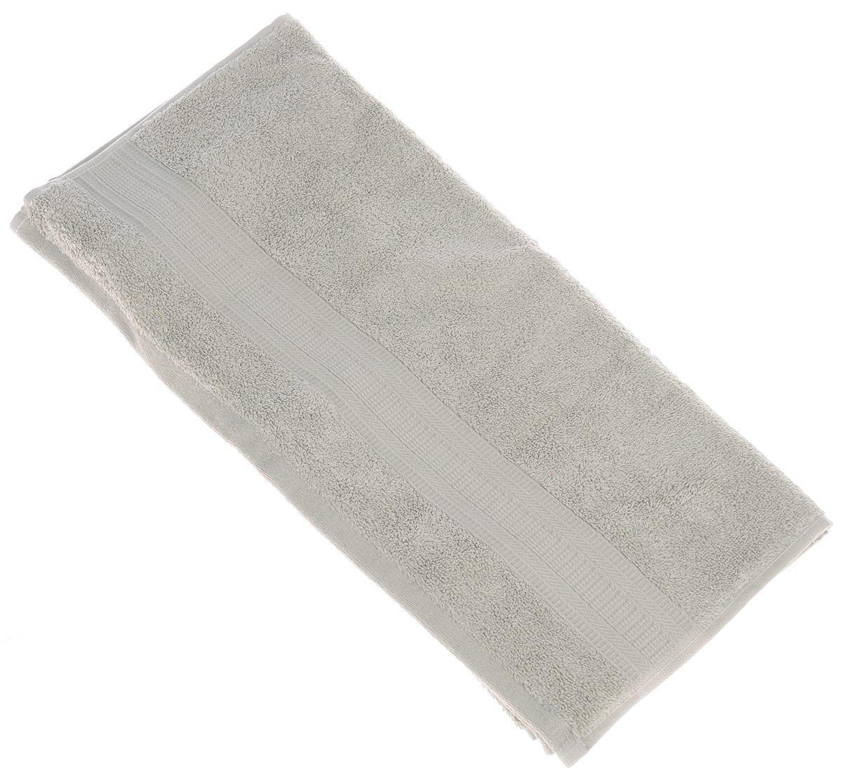 Полотенце TAC Mixandsleep, цвет: серый, 50 х 90 см1201Махровое полотенце TAC Mixandsleep выполнено из приятного на ощупь натурального хлопка и декорировано изящным орнаментом. Полотенце прекрасно впитывает влагу и легко стирается.Полотенце TAC Mixandsleep создаст атмосферу уюта и комфорта в вашем доме.Хлопок - это волшебный цветок, хранящий в своем сердце тепло и нежность. Человек начал использовать волокна этих растений еще в глубокой древности. Этот натуральный материал обладает такими свойствами как гигроскопичность и гипоаллергенность.